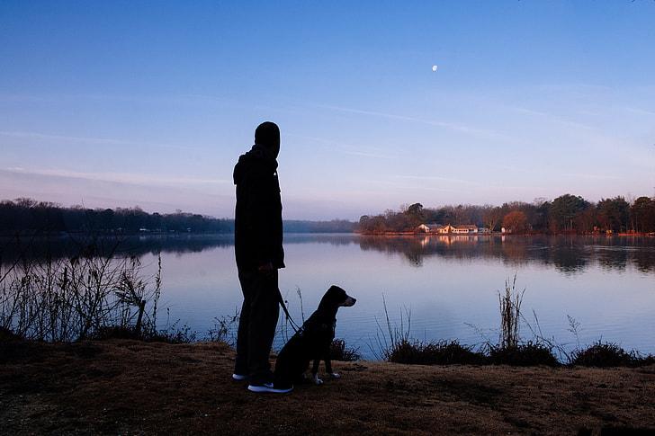 Poradnik przewodnika psa: nocne spacery zpsem